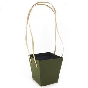 Подарочная упаковка для цветов  14X14X15cm
