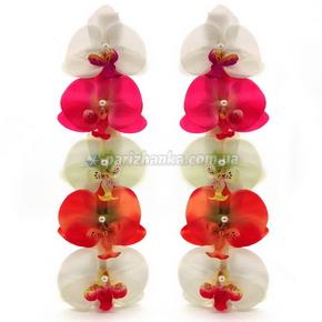 """Заколки лапка """"Орхидея"""" 10см"""